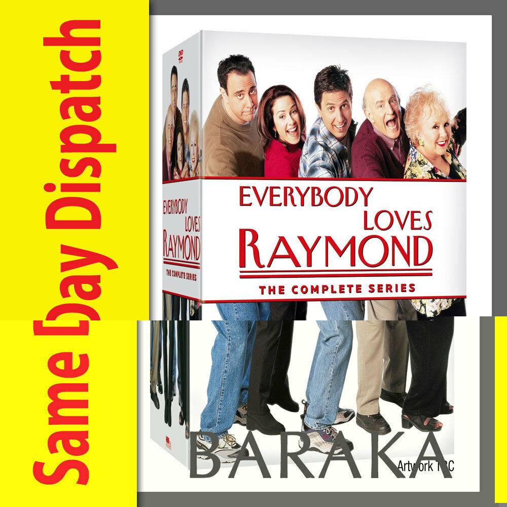 everybody loves raymond complete series season 1 2 3 4 5 6