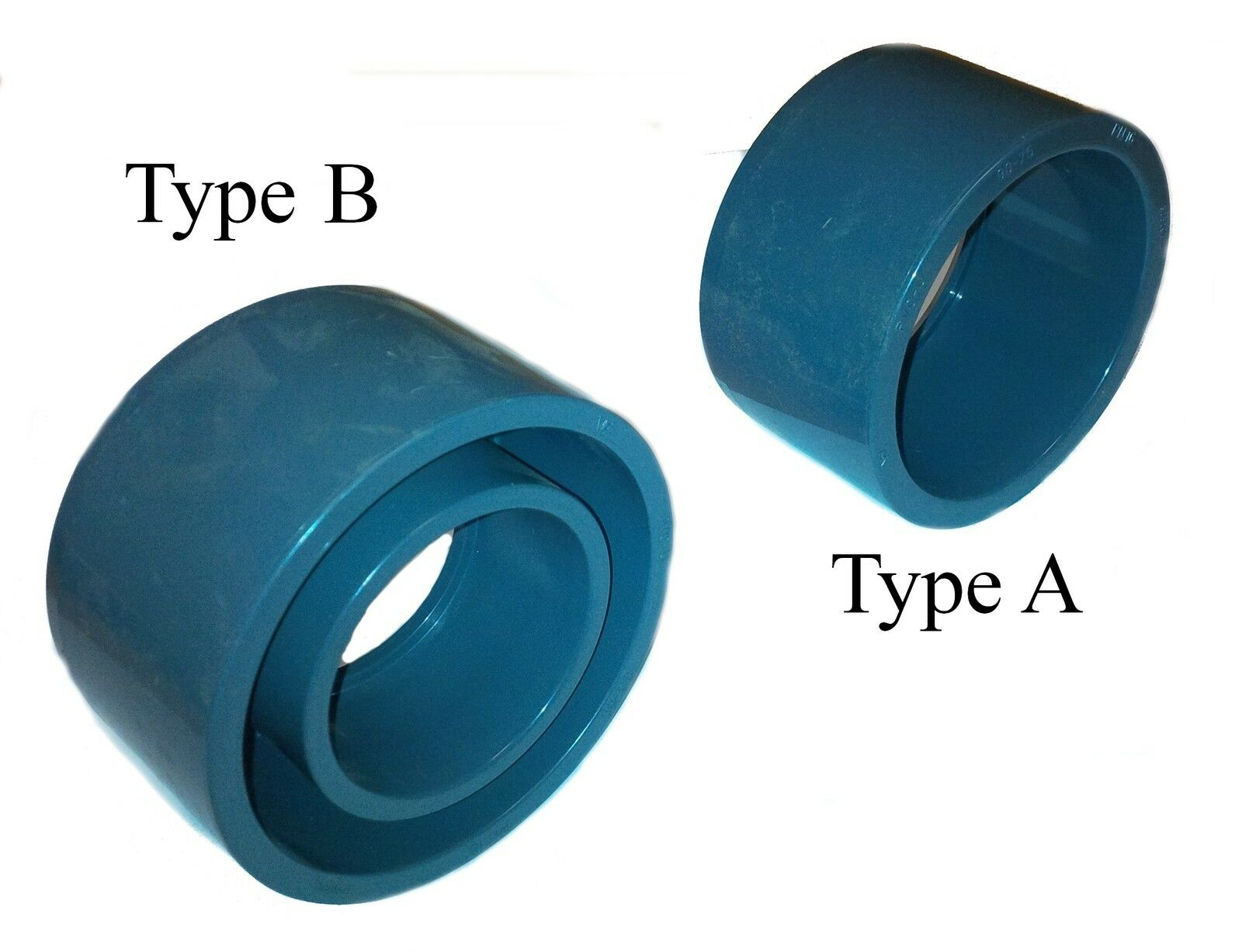 PVC Pipe Reducer Bush Solvent Weld Glue 20mm 25mm 32mm 40mm 50mm 63mm 75mm90mm