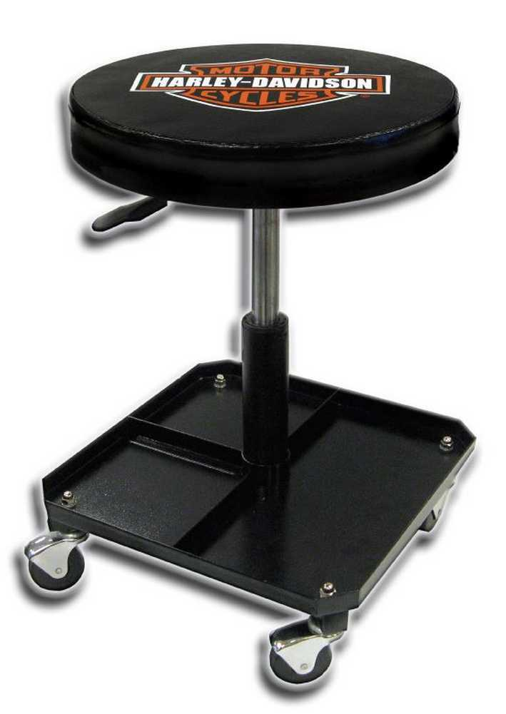 Harley Davidson Bar Amp Shield Shop Stool Swivel Amp Adjusted