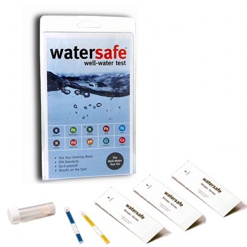 Drinking Well Water Home Test Kit - 10 Tests One Kit