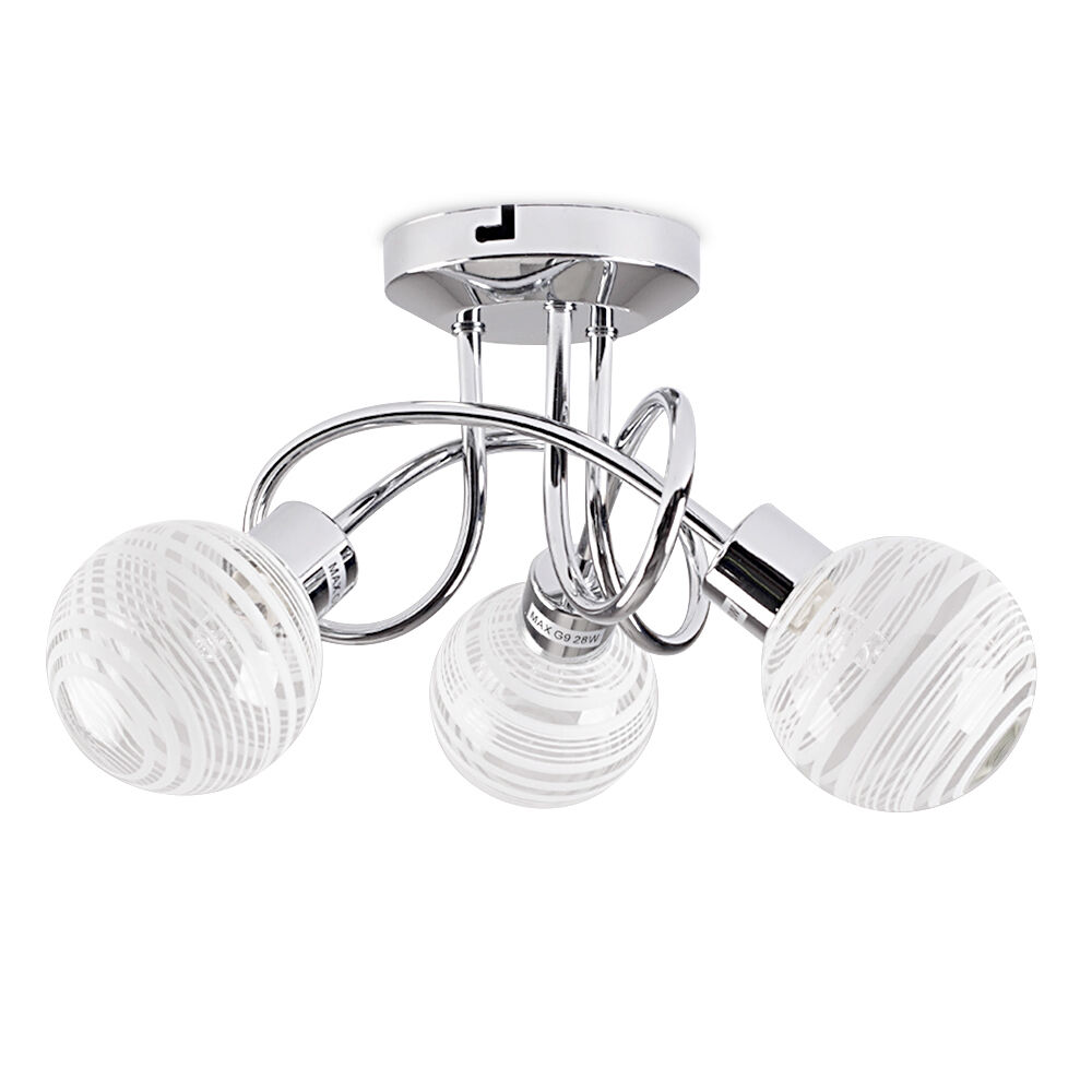 Way Ceiling Light Glass Shades