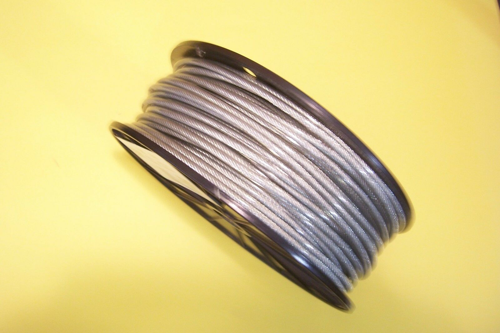 CLEAR VINYL COATED Wire Rope Cable, 1/8\