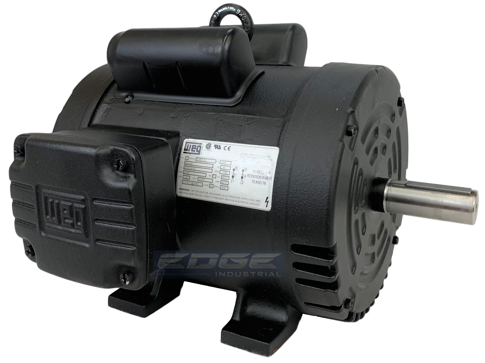 New 5 Hp 184t Frame Weg Electric Motor For Air Compressor