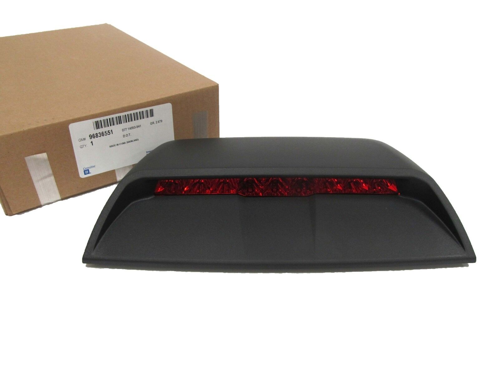 Oem New Rear High Mount Brake Light Lamp Black 11 15 Chevrolet Cruze Wiring Diagram 1 Of 5only 2 Available