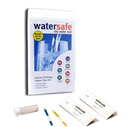 Watersafe City Water Drinking Test Kit | All-in-One Test Kit