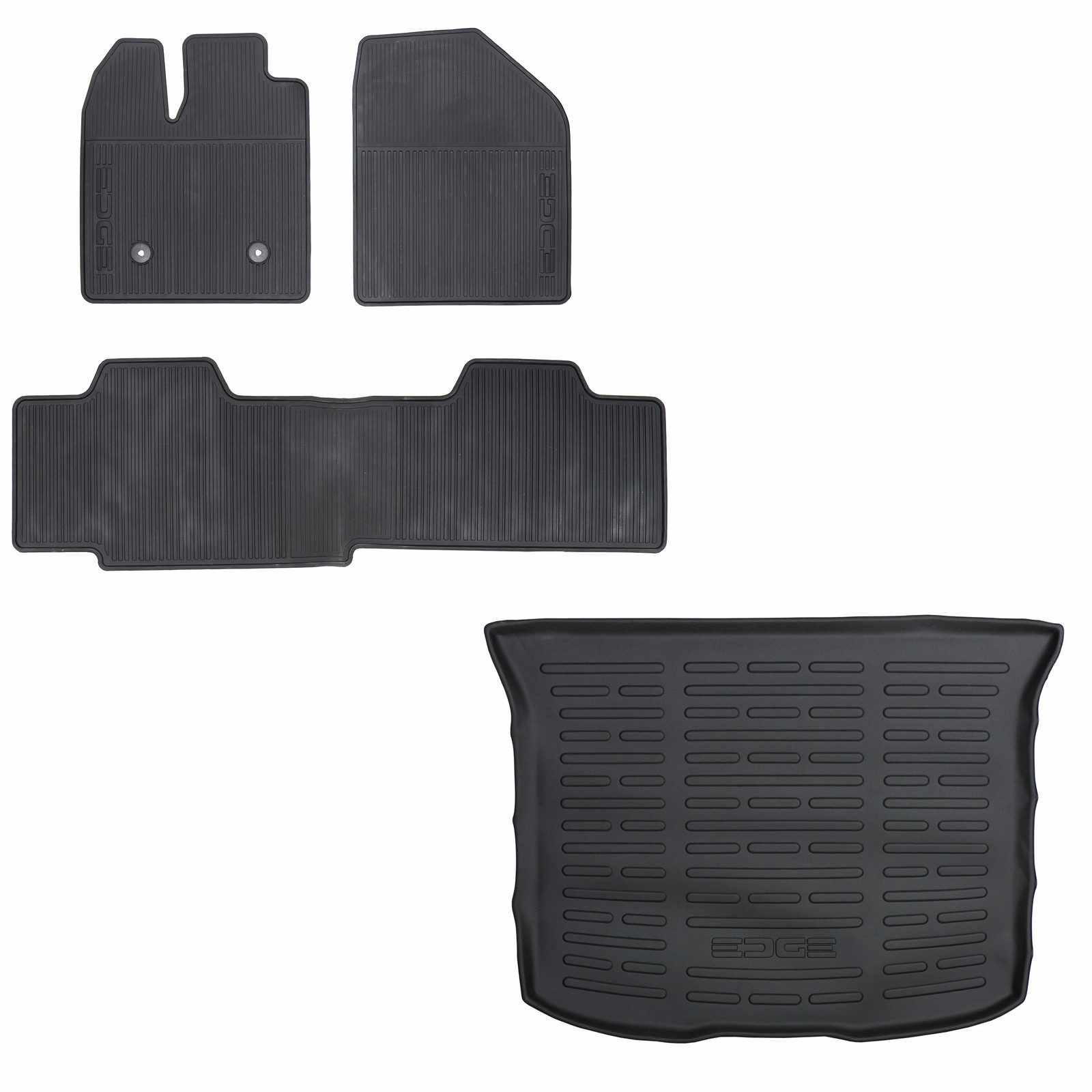 Oem New Front Rear All Weather Floor Mats Cargo Area Protector   Of Only  Available See More
