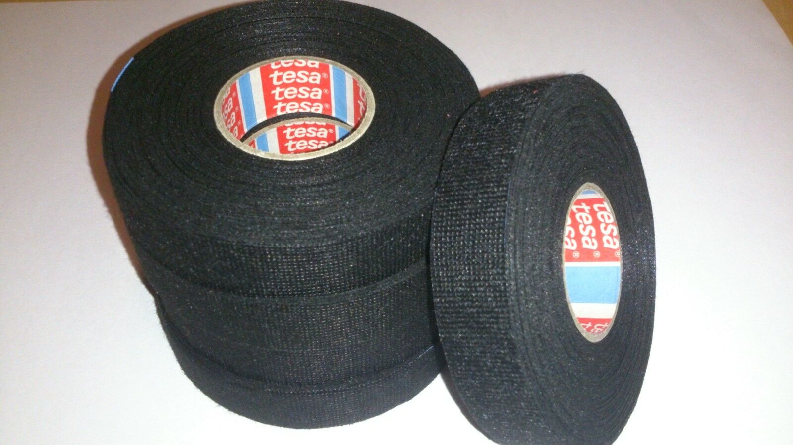 10 X Tesa Tape 25mx19mm Cable Roll Adhesive Cloth Fabric Wiring Loom Harness 1 Of 4free Shipping See More