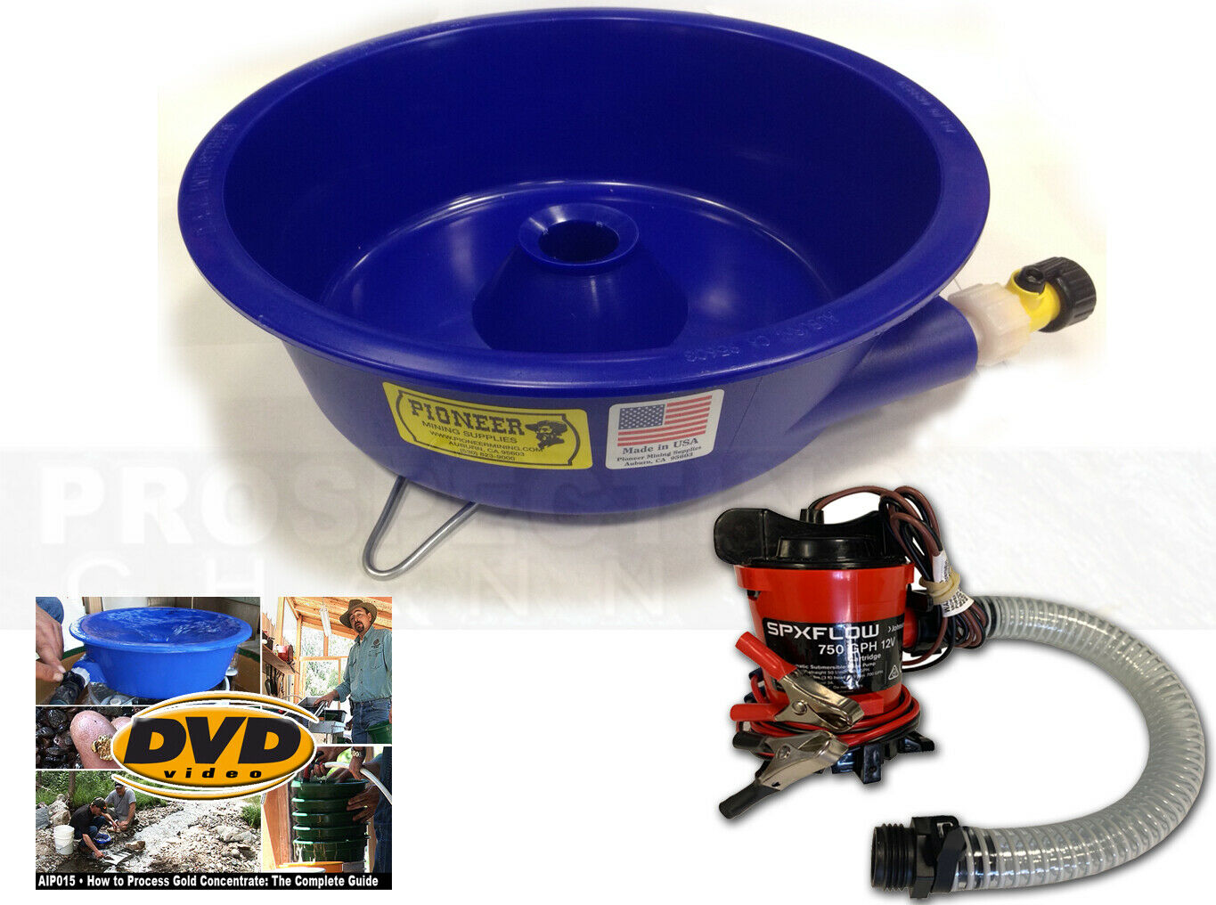 blue bowl concentrator instructions