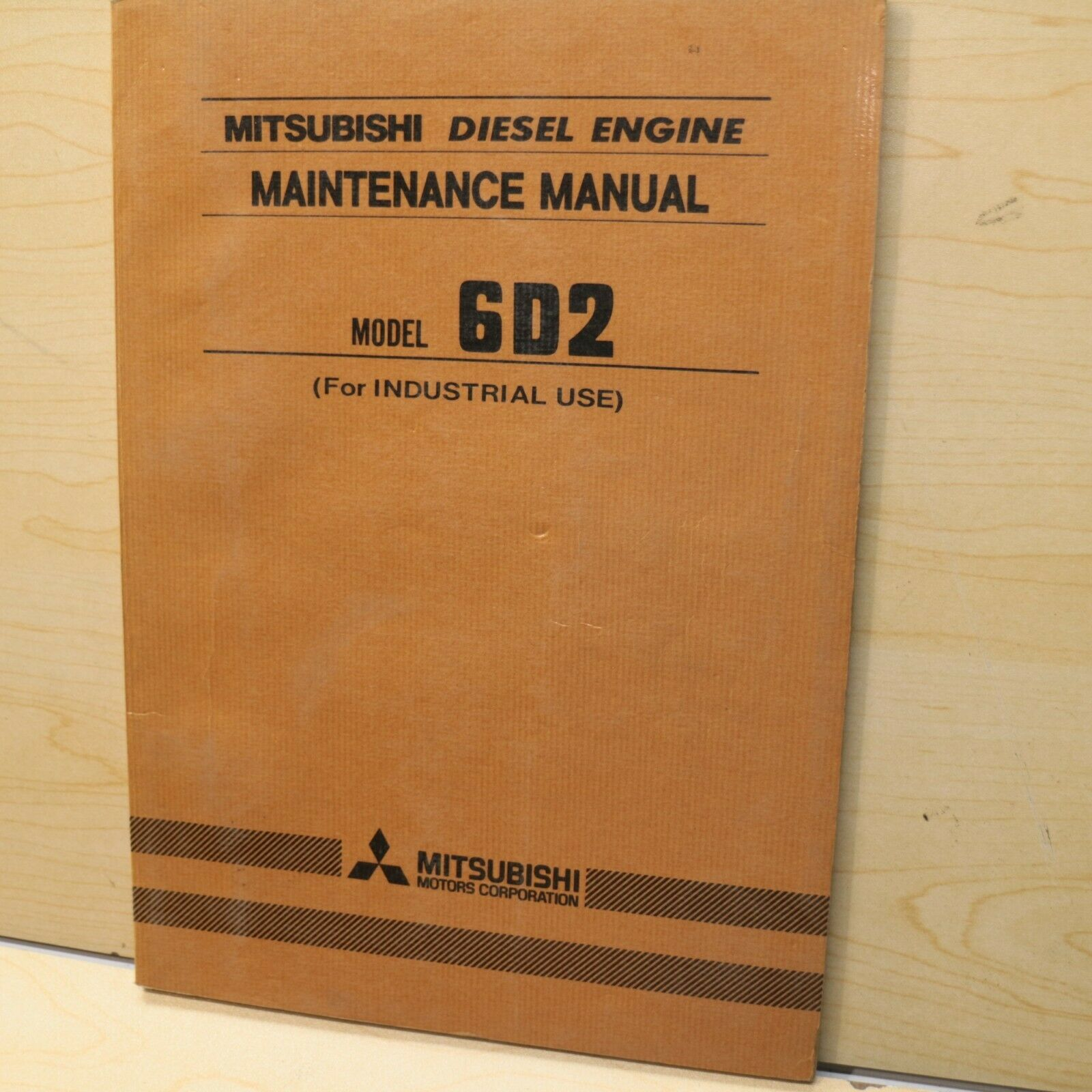 1 of 7Only 1 available MITSUBISHI 6D2 Diesel Engine Owner Operator  Operation Maintenance Manual book