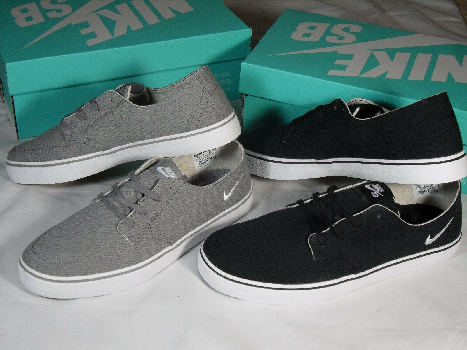 Nike Sb Braata Lr Canvas Gray Shoes