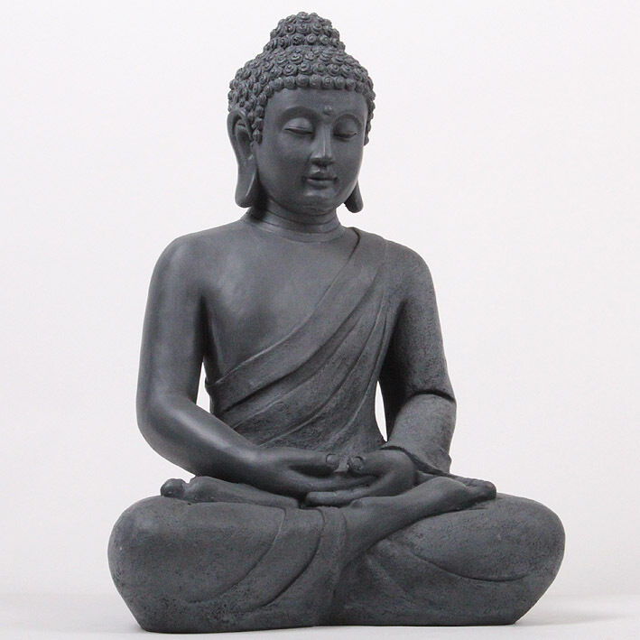 xxl 50 cm riesige deko asien garten buddha figur statue. Black Bedroom Furniture Sets. Home Design Ideas