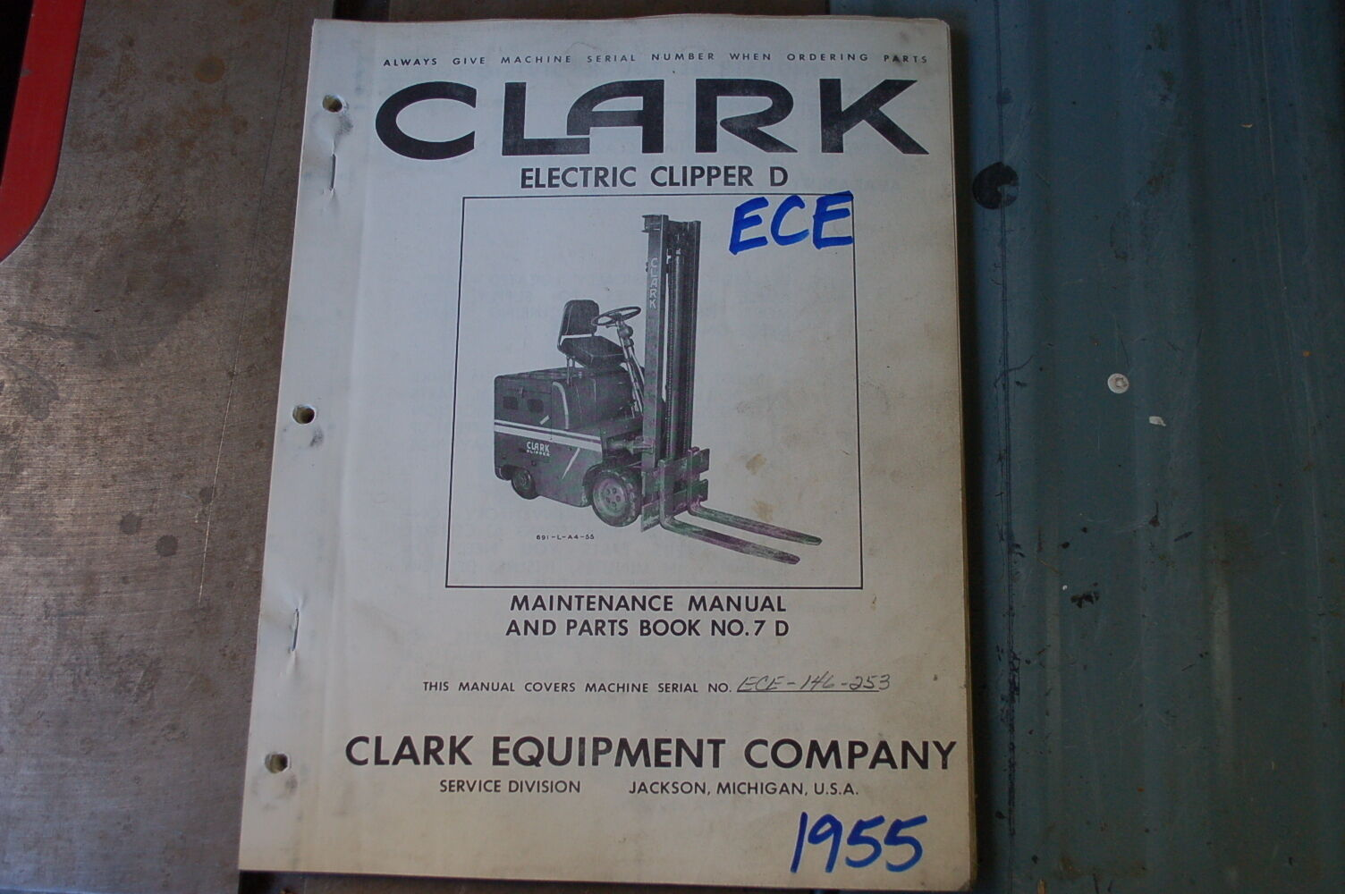 Clark Clipper Forklift Parts Diagram Electrical Wiring Diagrams Cgc25 Ece D Manual Book Catalog List Spare Lift Truck Yale Schematic