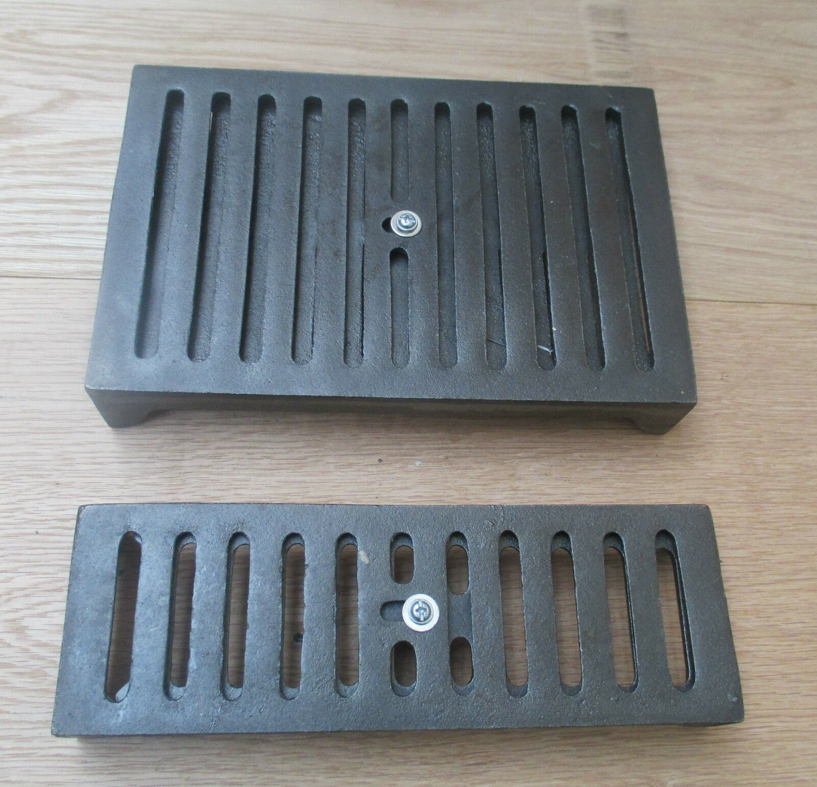 Cast Iron Air Brick With Sliding Vent Cover Repro Grill