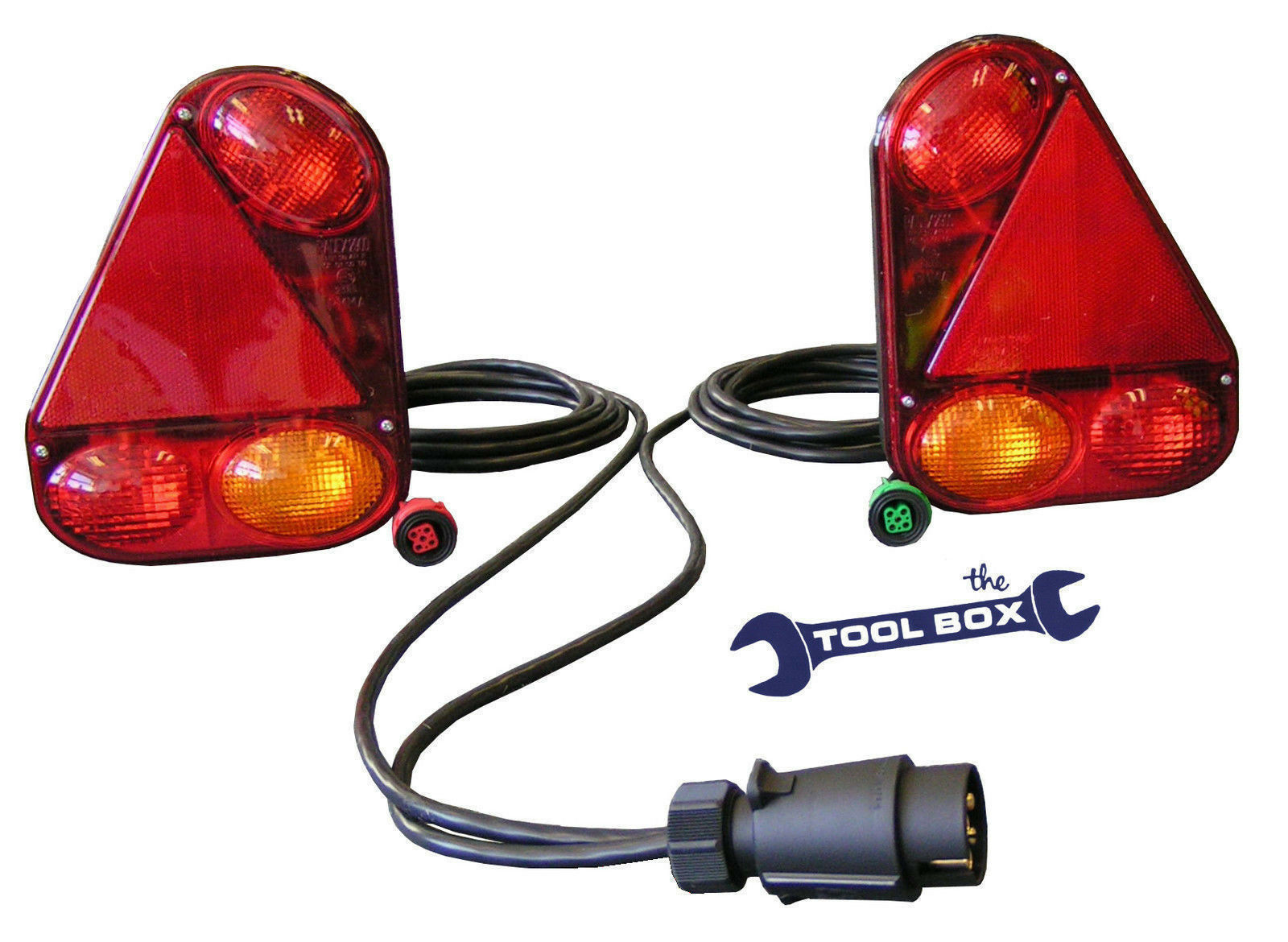 Radex Trailer Wirirng System 5 Function Lamps 2900 Wiring Harness 1 Of 1only Available See More