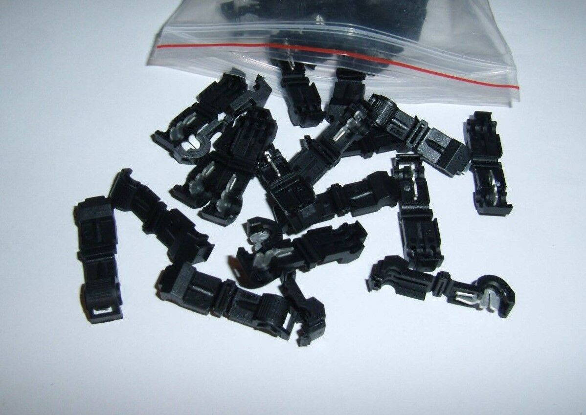25 Metra T Tap Quick Wire Connectors Black 26 22 Awg Gauge Car Audio Wiring 1 Of 1free Shipping See More