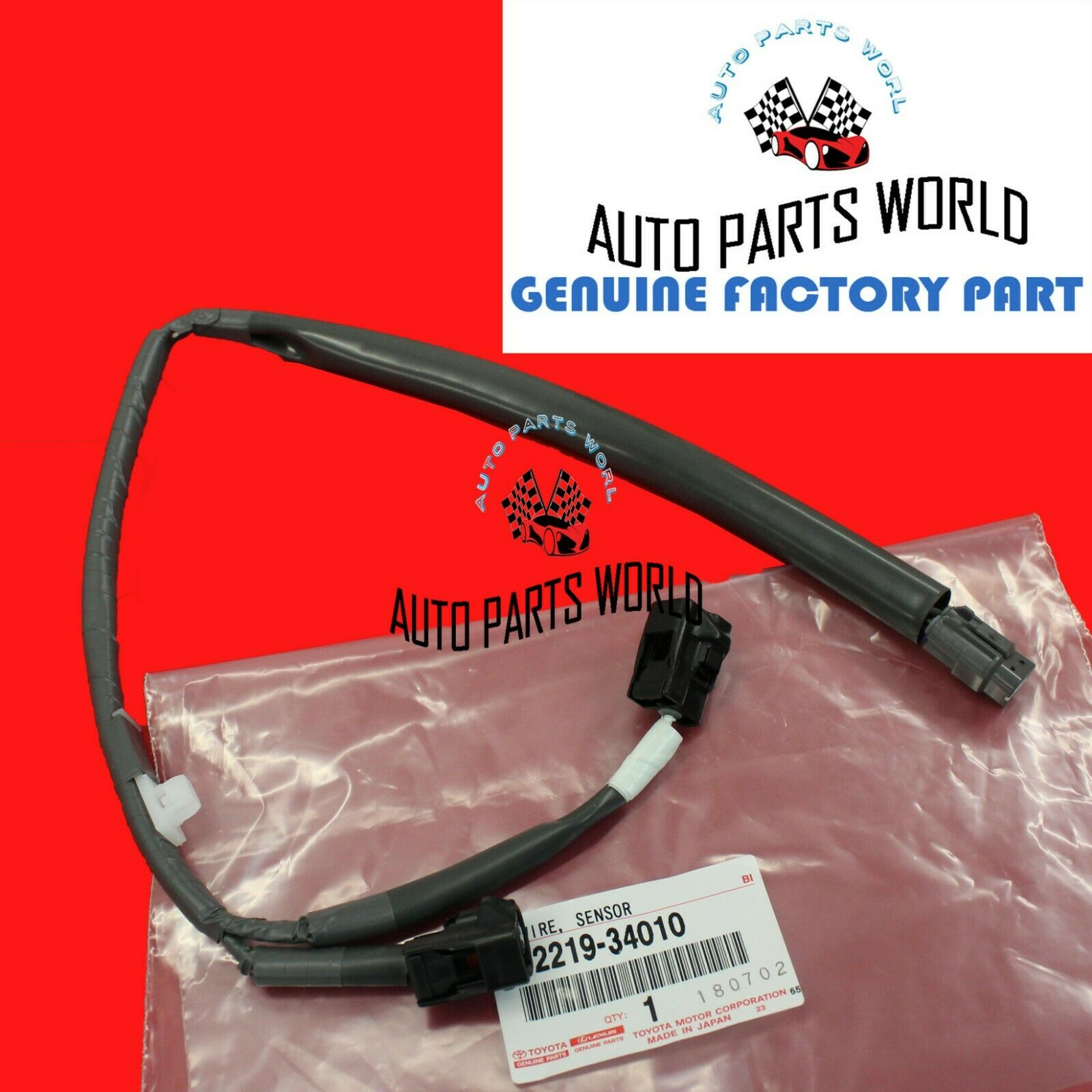 Toyota Wiring Harness Parts Library 2014 Tundra Oem Amp Diagram Genuine 4runner Tacoma 34l Knock Sensor Wire 82219 34010 1 Of
