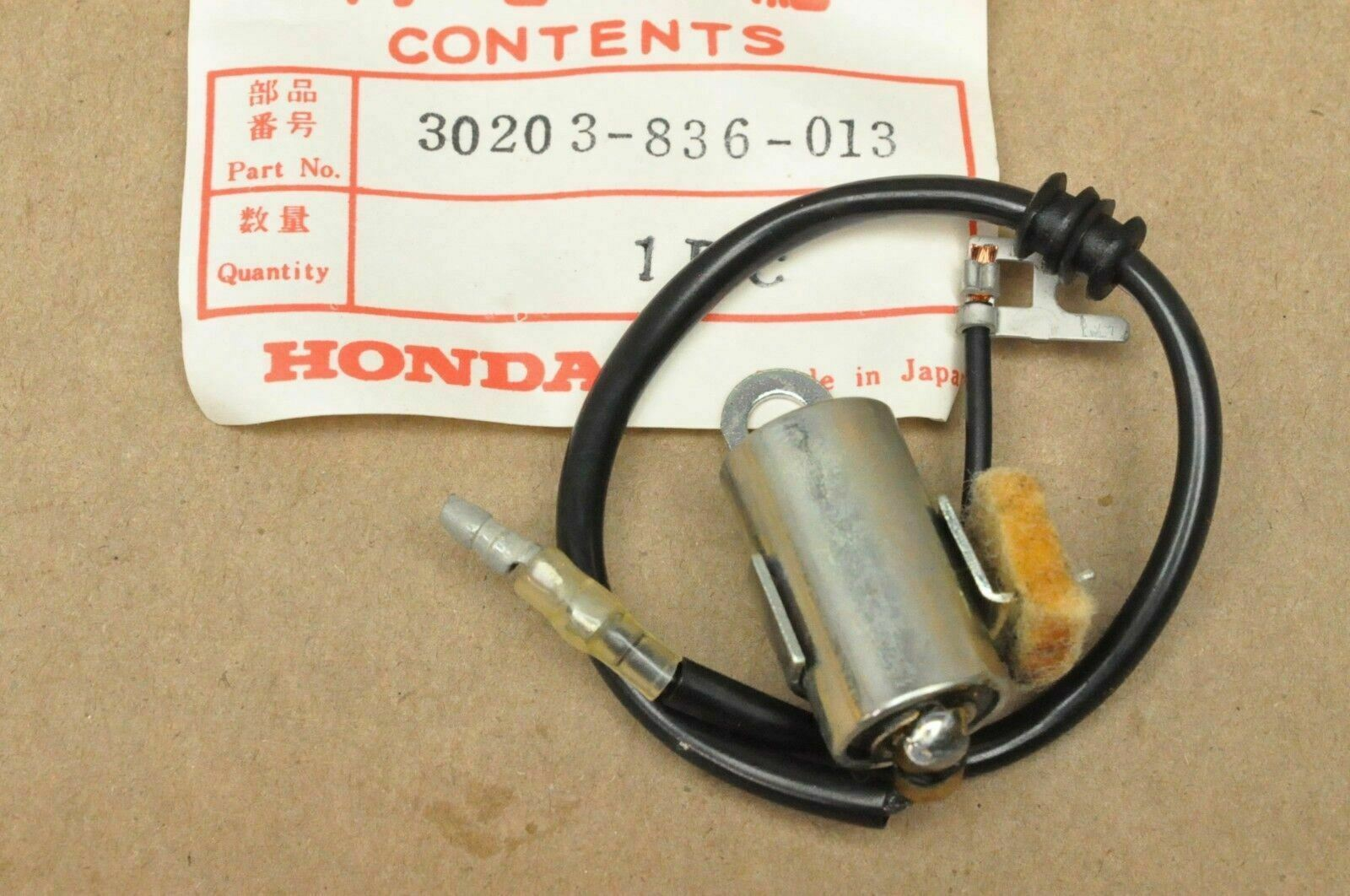 Nos New Honda E300 Er400 Generator Ignition Condenser 30203 836 013 Wiring Diagram 1 Of 3only 5 Available