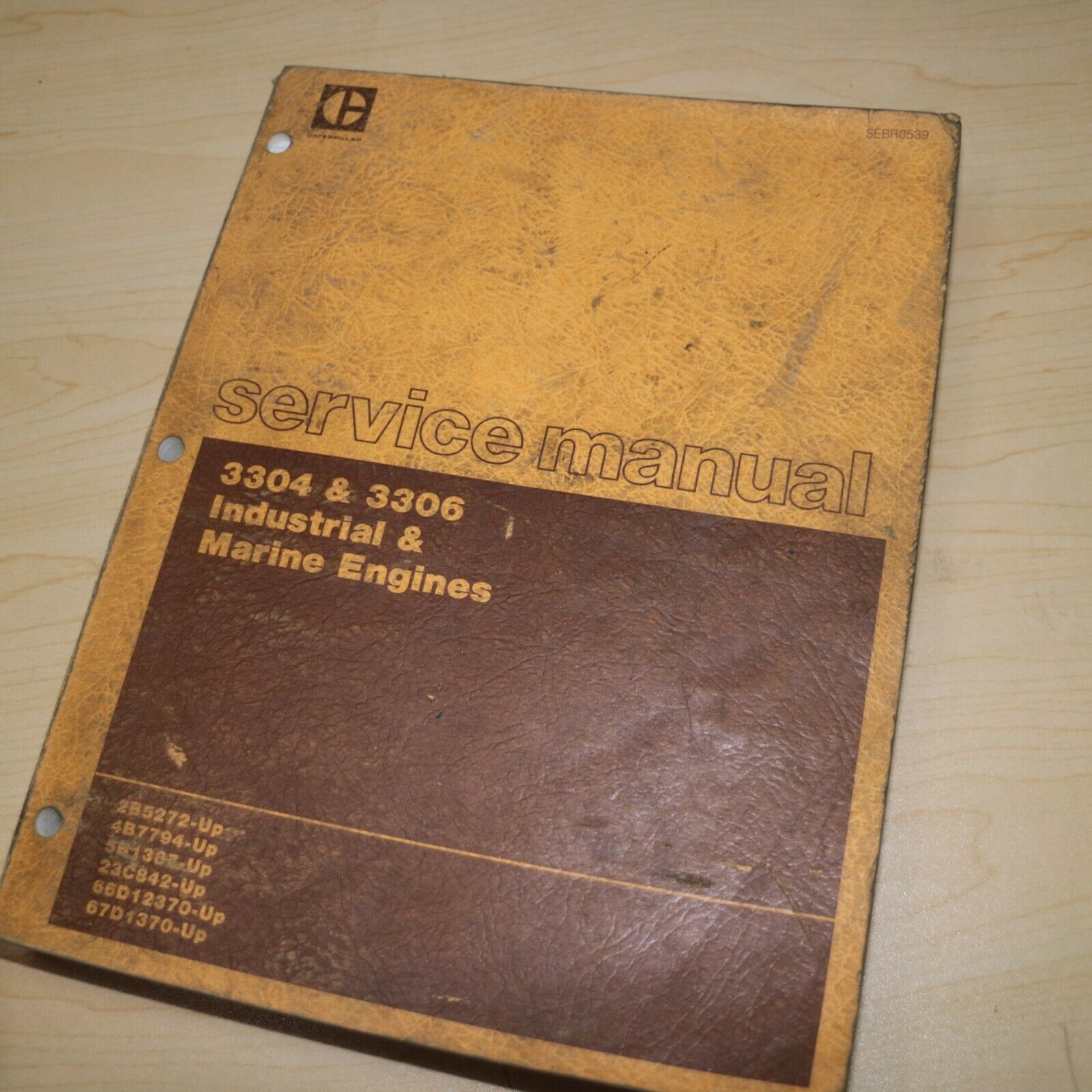 CAT Caterpillar 3304 3306 Marine Engine Repair Shop Service Manual overhaul  book 1 of 7Only 2 available ...