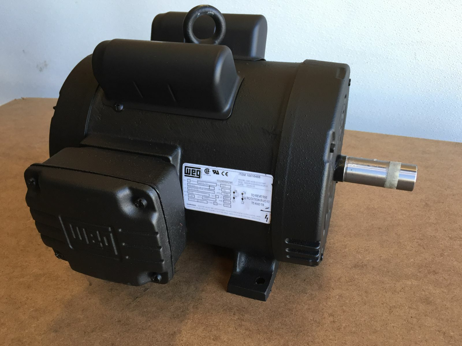 00518os1ccd184t 5 hp 1800 rpm new weg motor replaces for 5 hp 1800 rpm motor