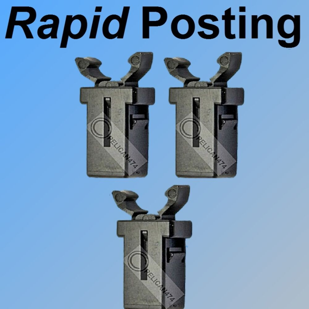 3X REPLACEMENT CLIPS catch latch for a touch bin lid compatible John ...