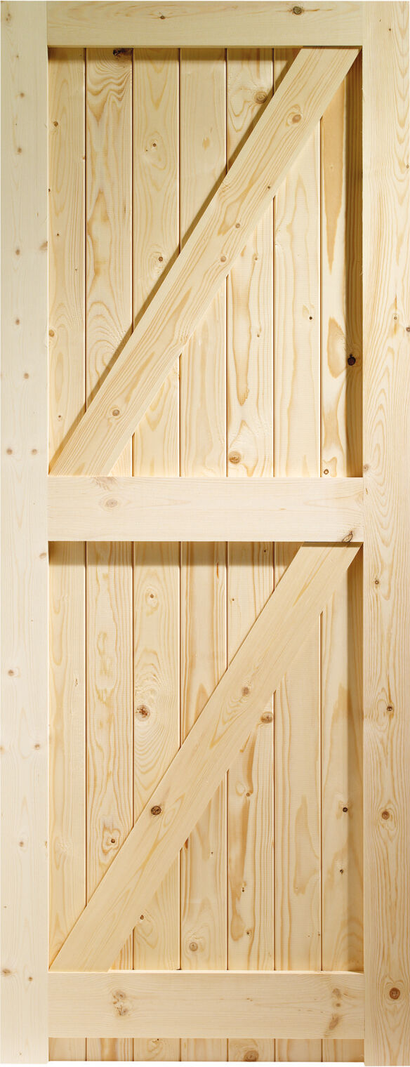 Pine Framed Ledge And Brace External Doors  E  A  See More