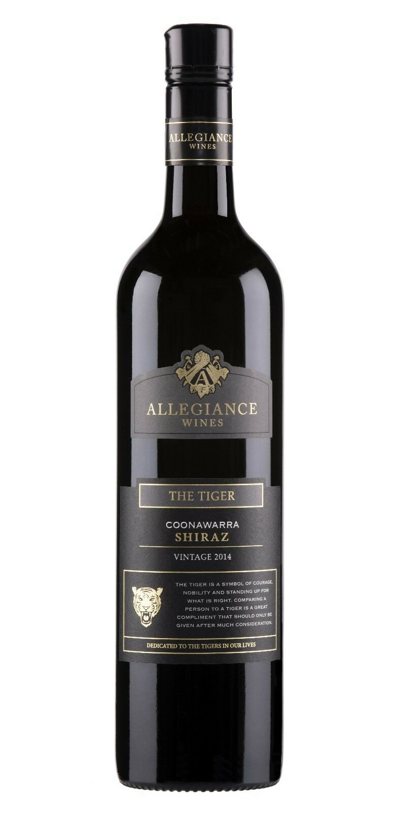 2015 X 12 Allegiance The Tiger Coonawarra Shiraz