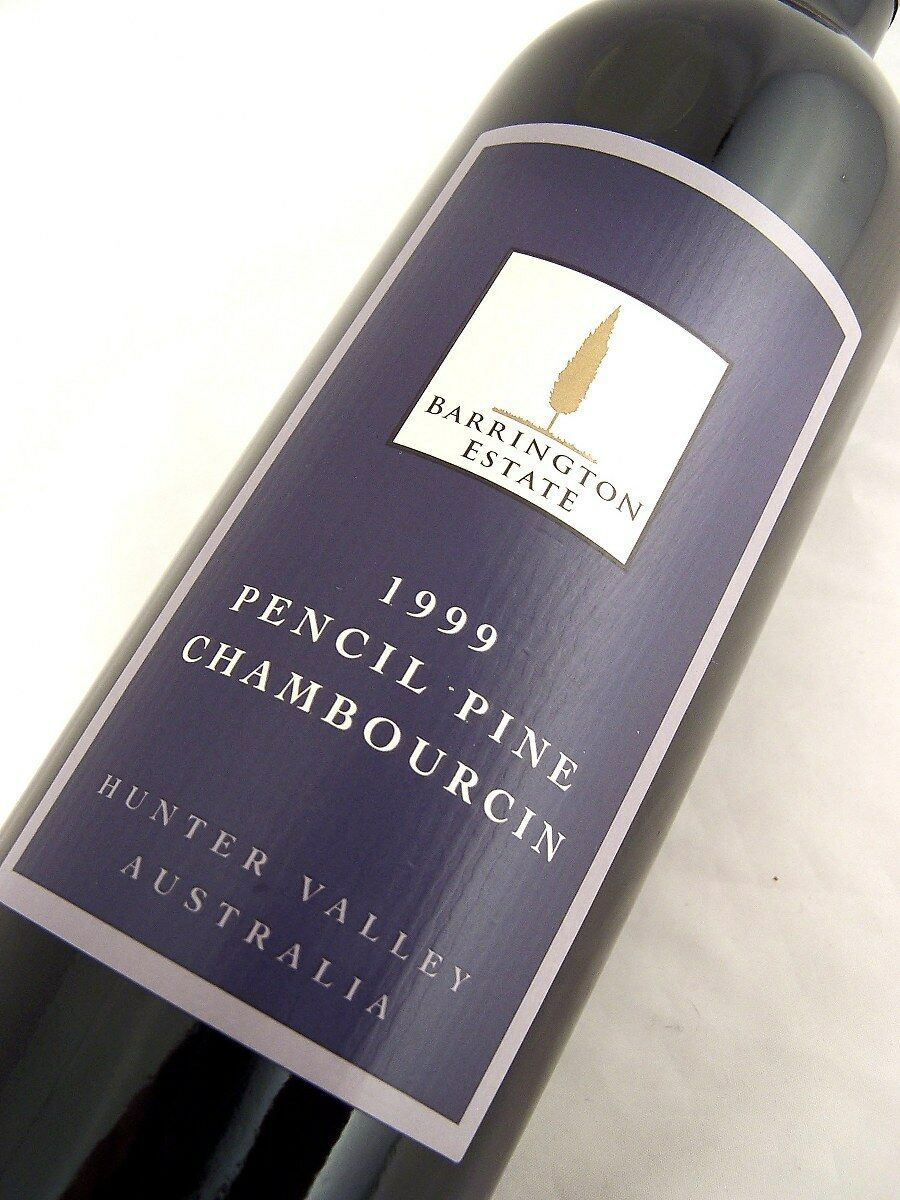 1999 BARRINGTON ESTATE Pencil Pine Chambourcin Isle of Wine