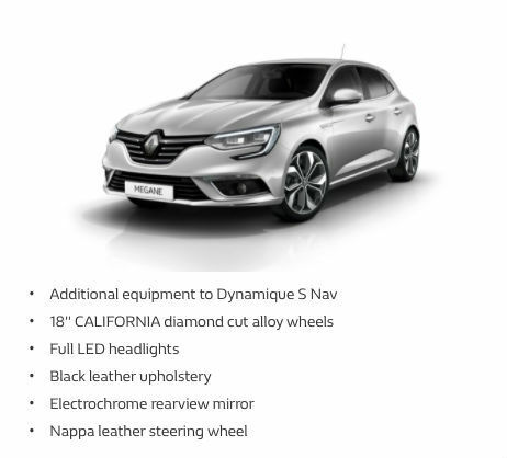 renault megane 1 2 tce 130bhp s s 2016my signature nav auto 18 picclick uk. Black Bedroom Furniture Sets. Home Design Ideas