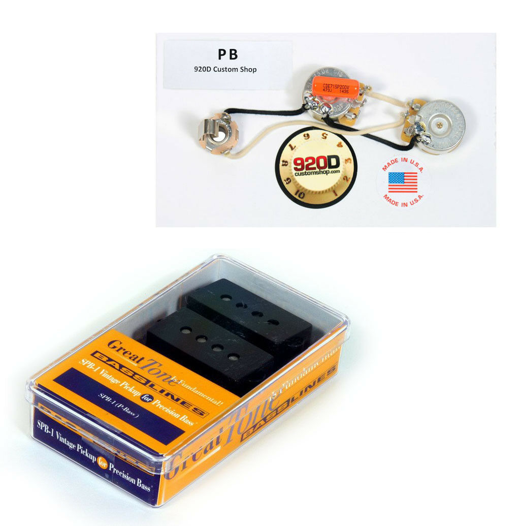 Duncan Spb 1 Vintage For Fender P Bass Guitar Pickup Black Pb Details About Emg J Pj Style Complete Active Wiring Kit Harness Of 4only 3 Available See More