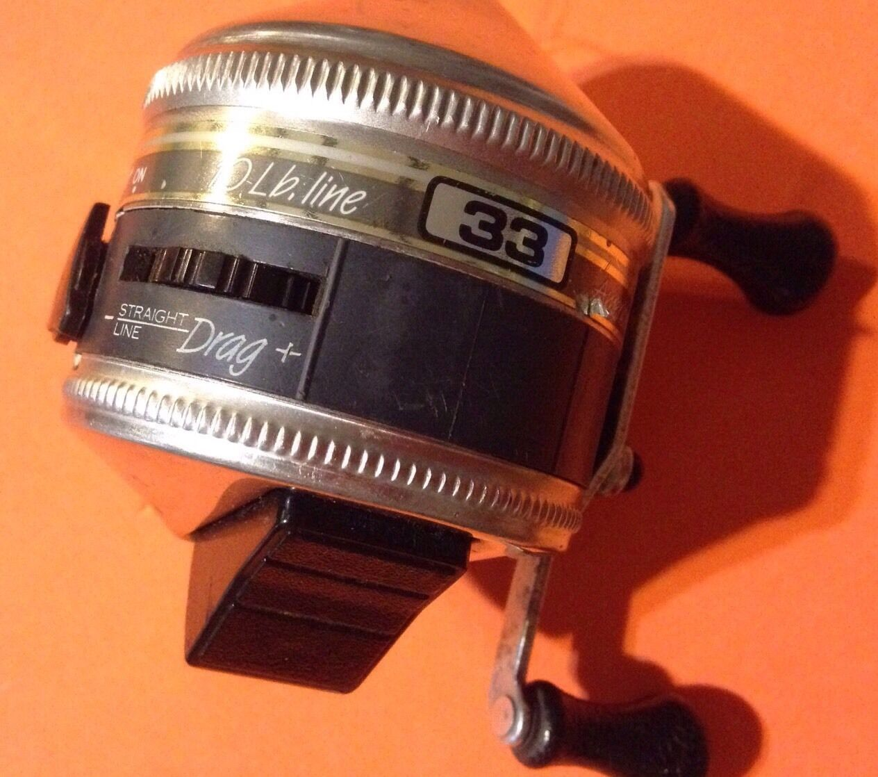 Vintage zebco 33 usa made spinning fishing reel for American made fishing reels