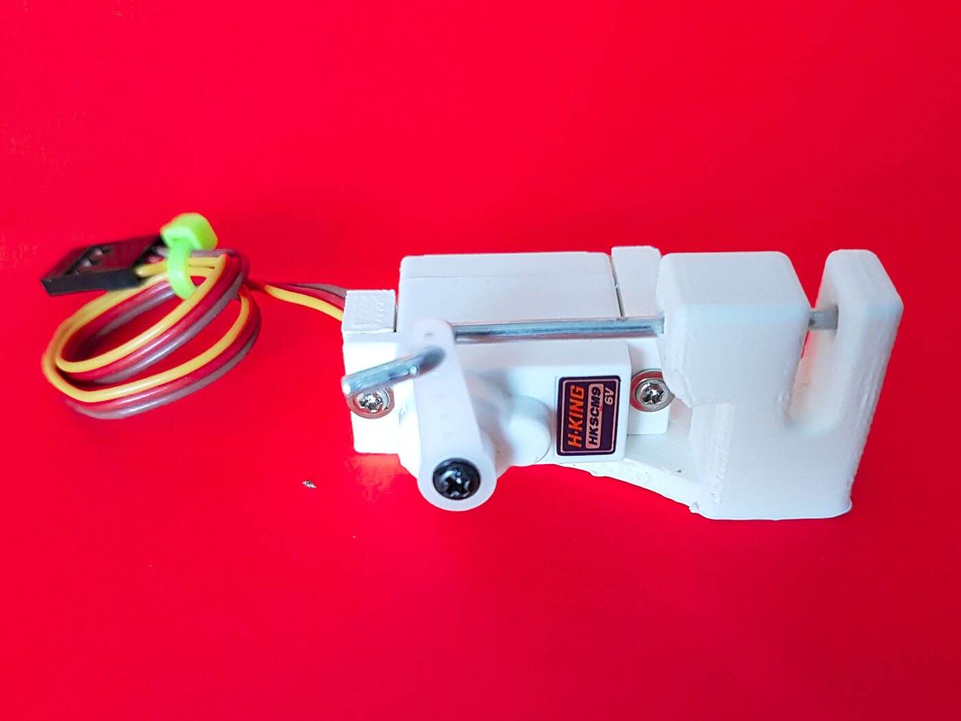 Payload servo release drones aeroplanes bait drop fishing for Drone fishing line release