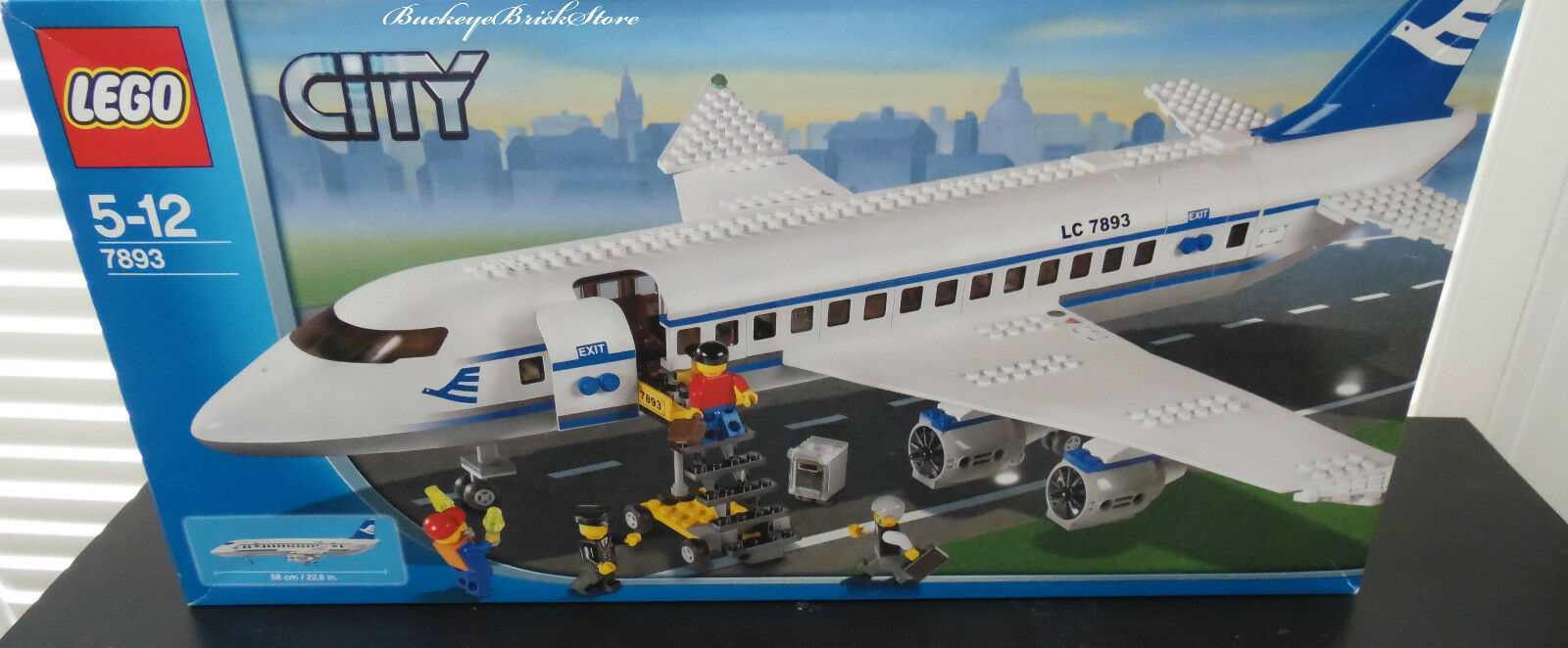 Lego Town City Airport 7893 Passenger Plane New Sealed 66500