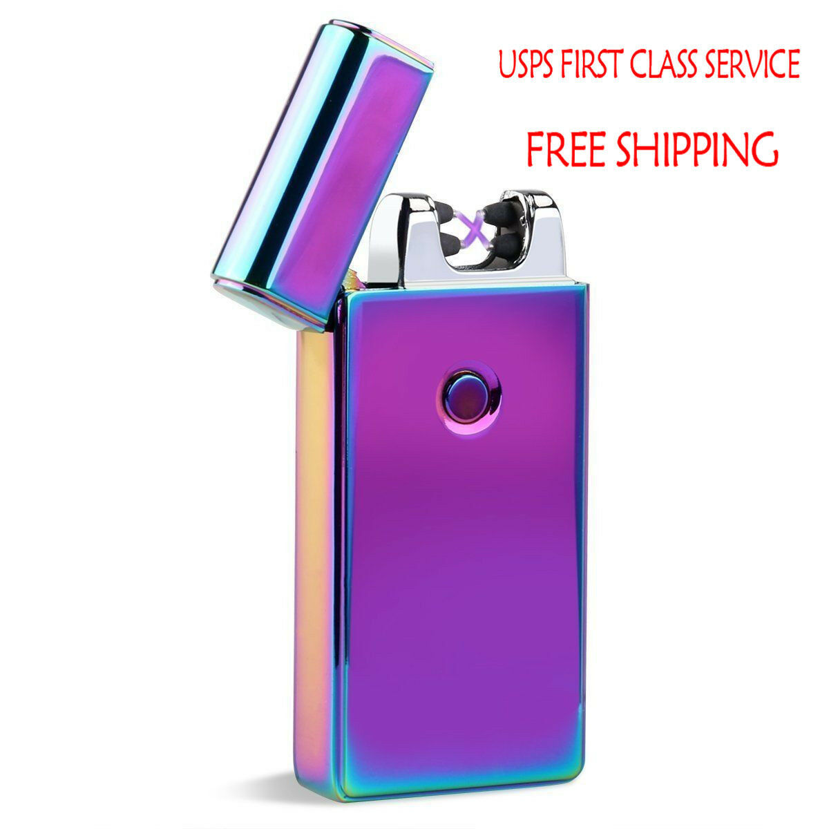 US STOCK!!ELECTRIC USB Lighter Dual Arc Flameless Rechargeable Windproof Lighter - $13.22 ...