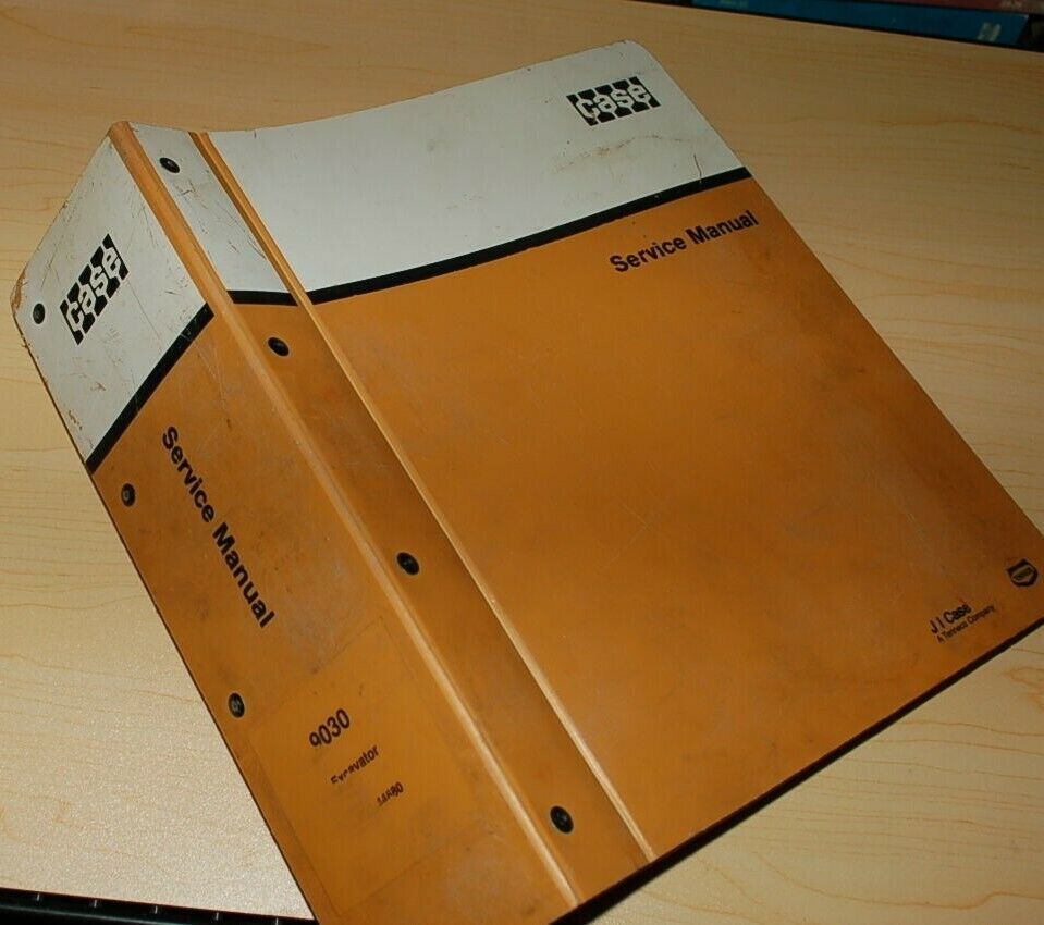 1 of 8Only 1 available CASE 9030 Excavator Trackhoe Crawler Repair Shop  Service Manual ...