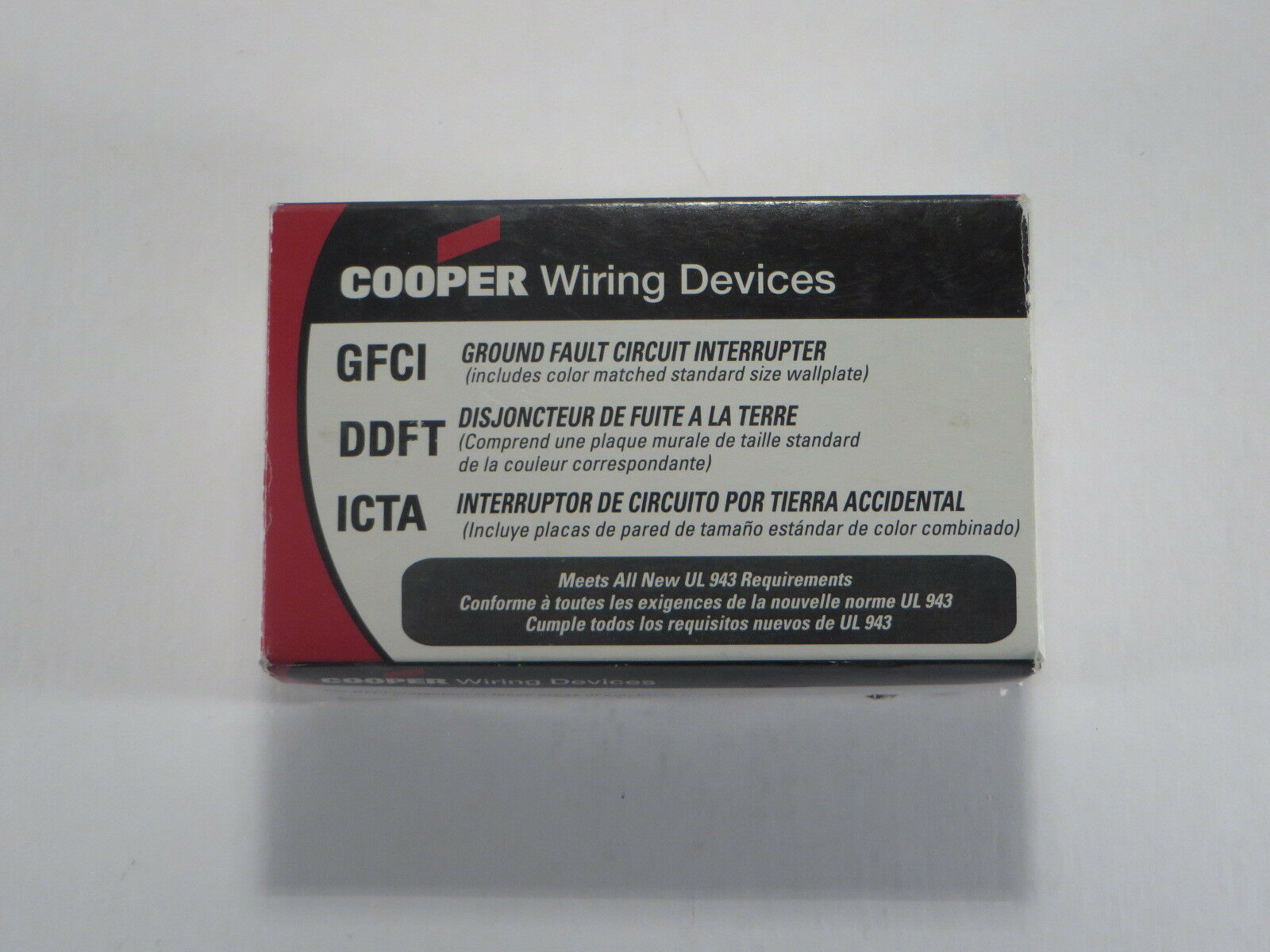 COOPER WIRING Devices, Almond, VGFD20A, GFCI Electrical Outlet, New ...