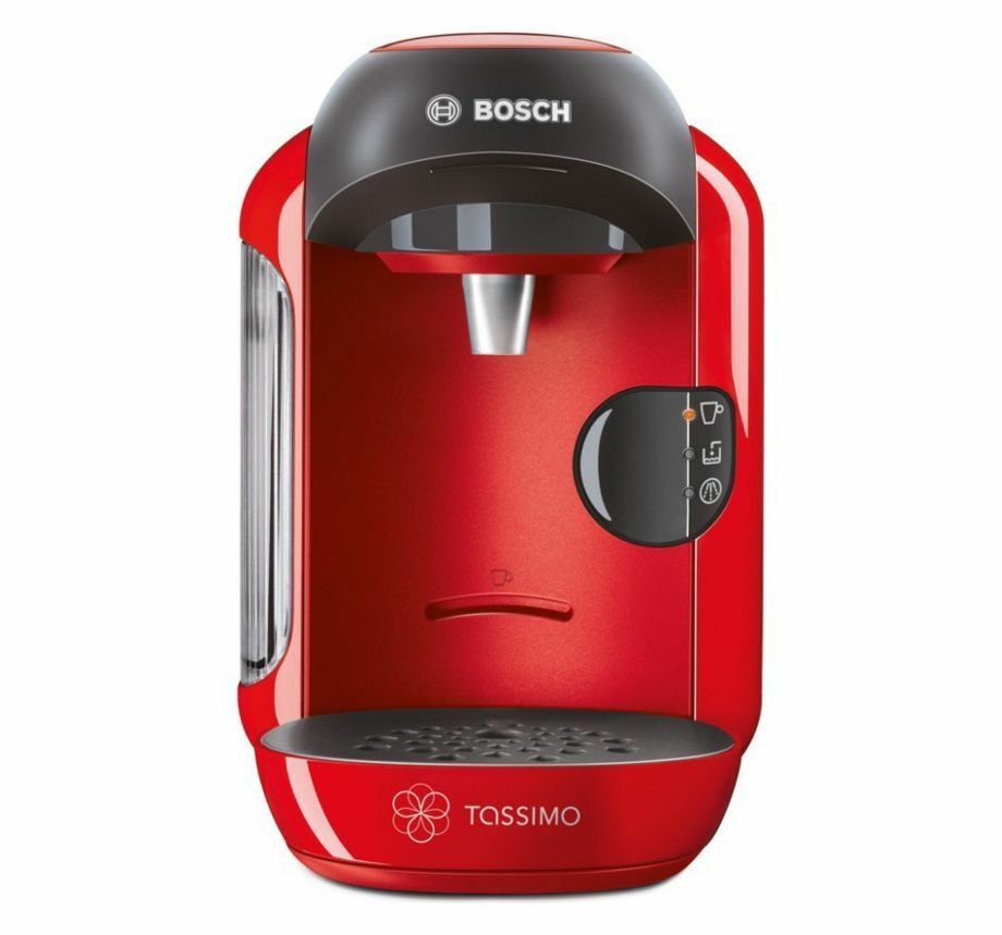 bosch tassimo red vivy coffee and multi hot drinks machine maker new picclick uk. Black Bedroom Furniture Sets. Home Design Ideas