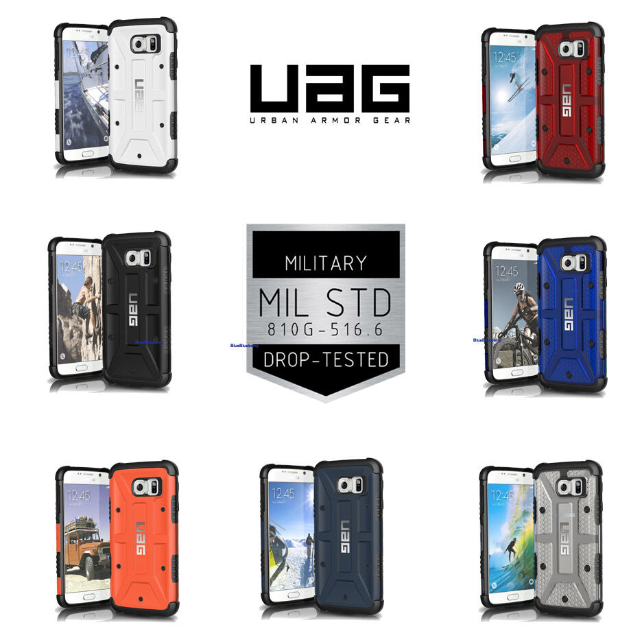 Samsung Galaxy S6 Uag Hybrid Case Cover Urban Armor Gear Military Slate Iphone 6 Plus 6s 1 Of 5free Shipping