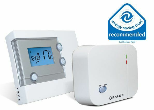 salus wireless room thermostat rt500rf 7 day or 5 2 day. Black Bedroom Furniture Sets. Home Design Ideas
