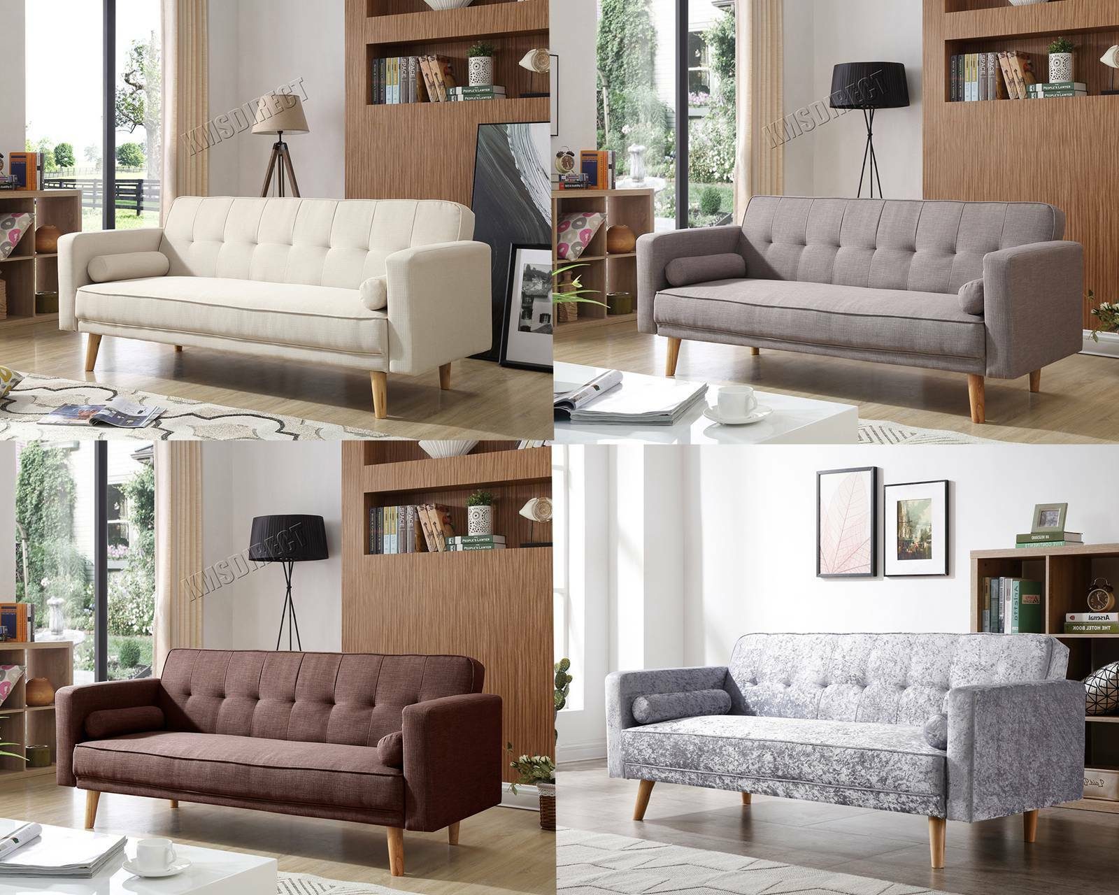 westwood fabric sofa bed 3 seater couch luxury modern home. Black Bedroom Furniture Sets. Home Design Ideas