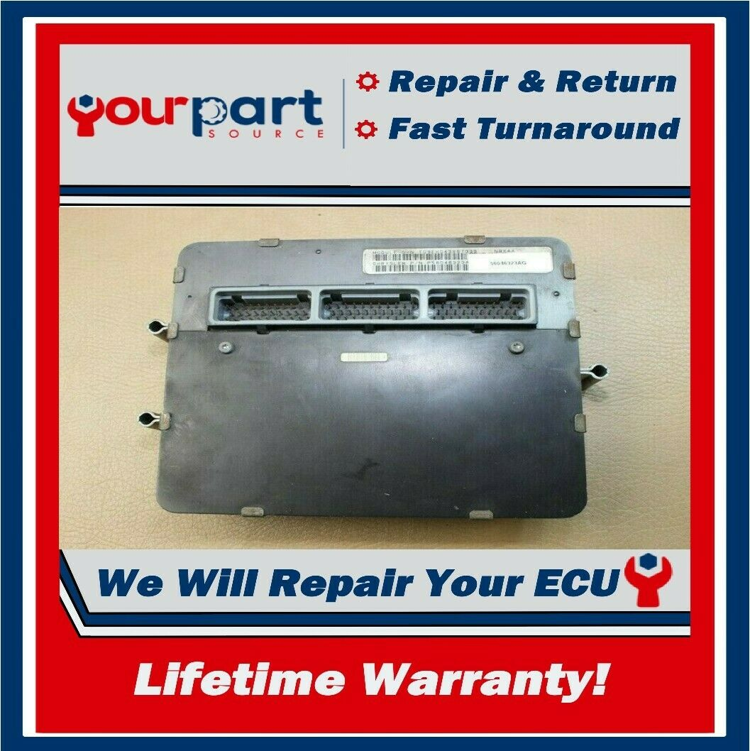 Repair Service 96 01 Jeep Cherokee 25l Ecu Ecm Pcm Engine Control Wiring Diagram For 2000 1 Of See More