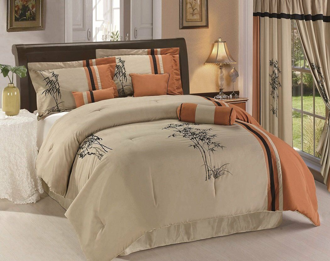 9pc rose tree antibes king comforter set french country flor