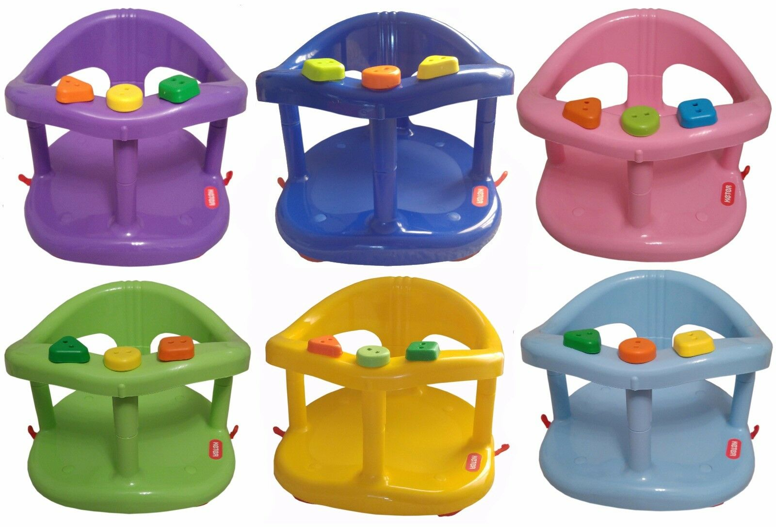 INFANT BABY BATH Tub Ring Safety Seat Anti Slip Chair Genuine Keter ...