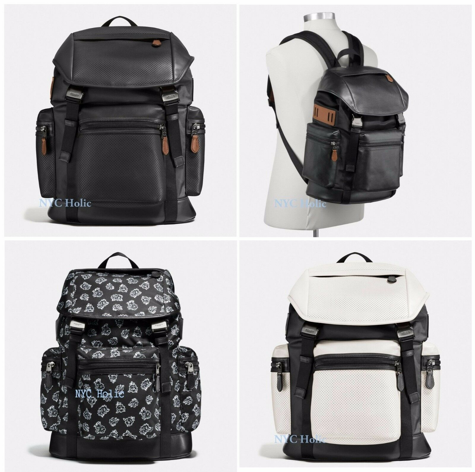 Coach nylon campus backpack