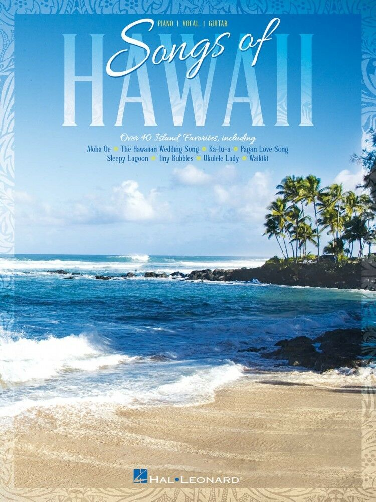 Songs Of Hawaii Sheet Music Piano Vocal Guitar Songbook New