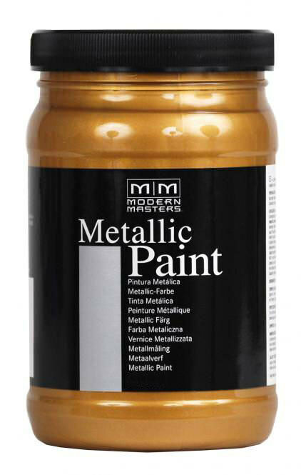 metallic paint copper 0 1l 149 l kupfer modern masters metall farbe lack acryl eur 14 90. Black Bedroom Furniture Sets. Home Design Ideas