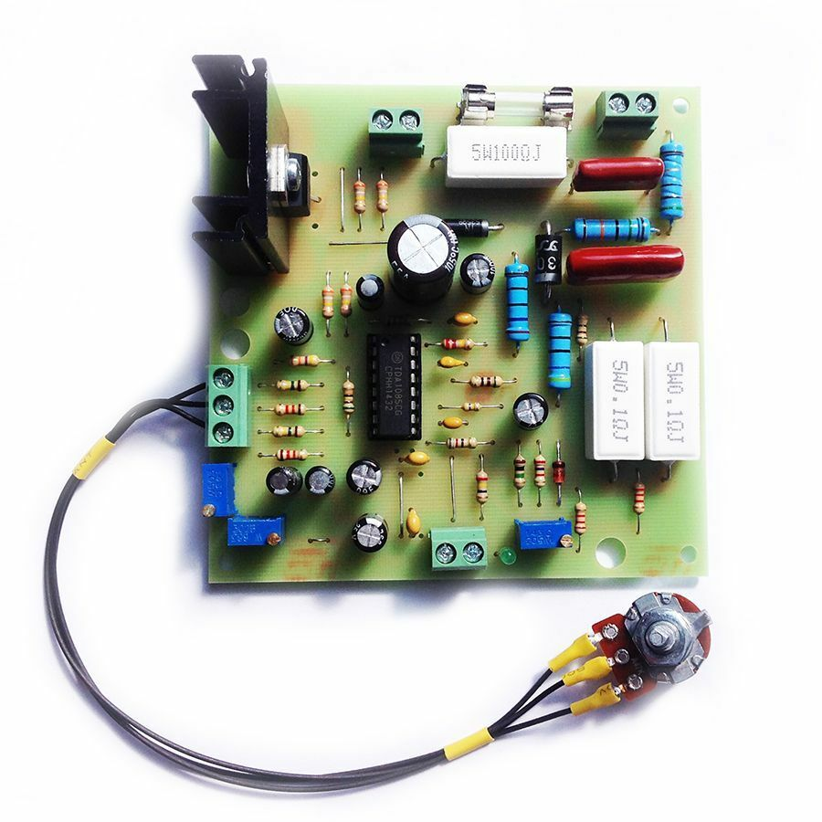 Motor speed regulator without power loss tda1085 46 for Loss of motor control