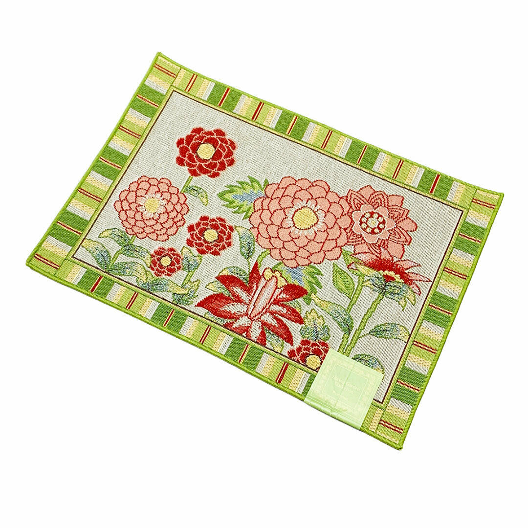 Spring Garden Floral Tapestry Placemat 1 Of 1Only 4 Available ...