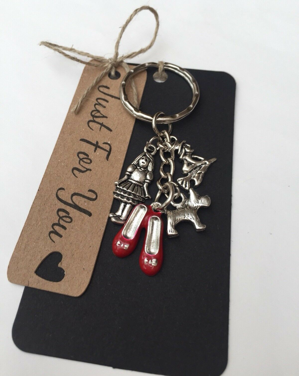 wizard of oz inspired keyring bag charm giftpresent christmas 1 of 2only 5 available