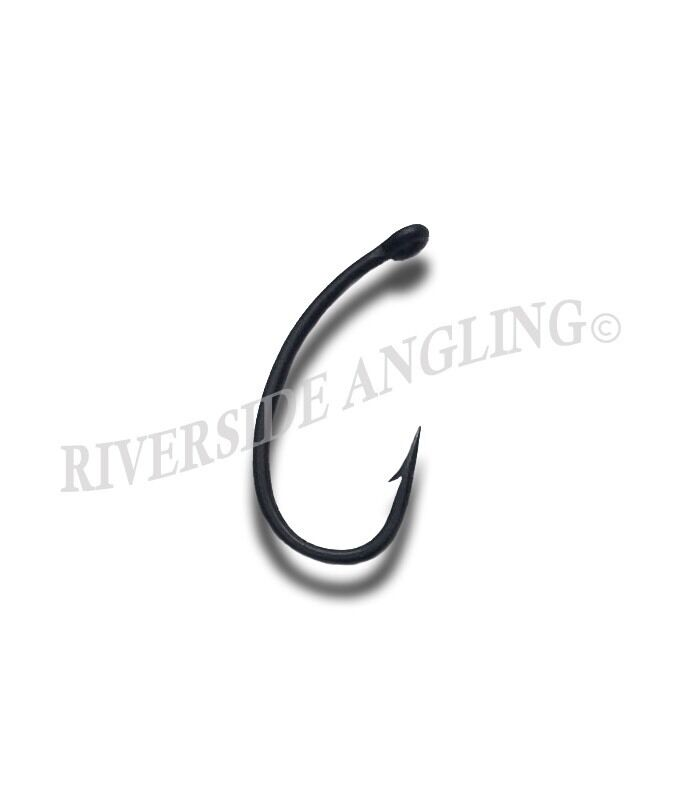 Curve shank hooks micro barbed size 6 carp fishing tackle for Micro fishing hooks