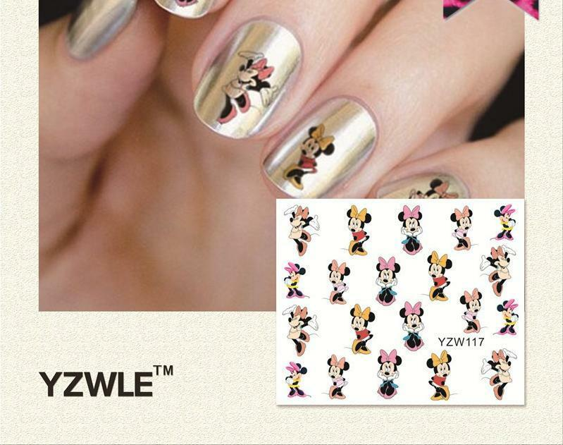 DANCING MINNIE MOUSE Nail Art Sticker Decal Decoration Manicure ...